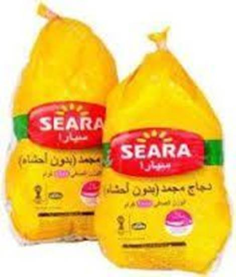 صورة  دجاج سيارا مجمد بدون عظم شاورما ( 2.5 كجم * 4 حبات