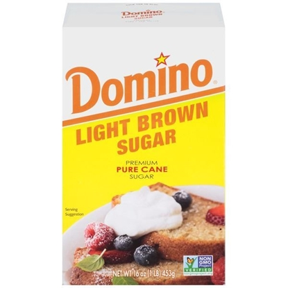 Picture of Domino Light Brown Sugar(  11.340 KG * 1 Pouch )