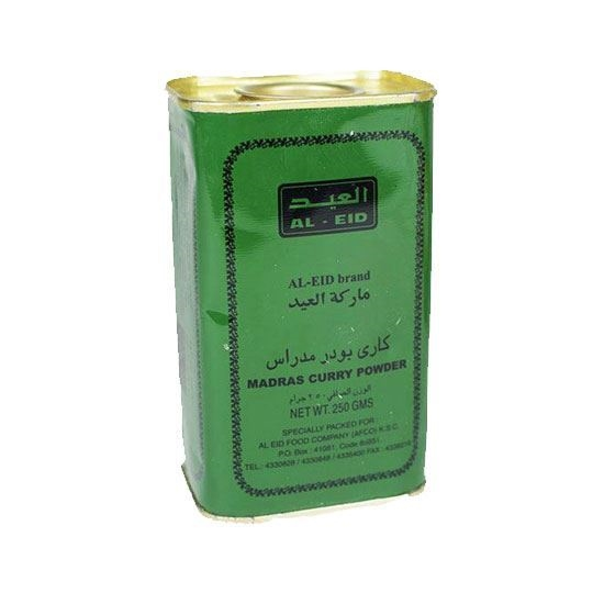 Picture of AL Eid Madras Curry Powder( 250 GM * 72 Can  )