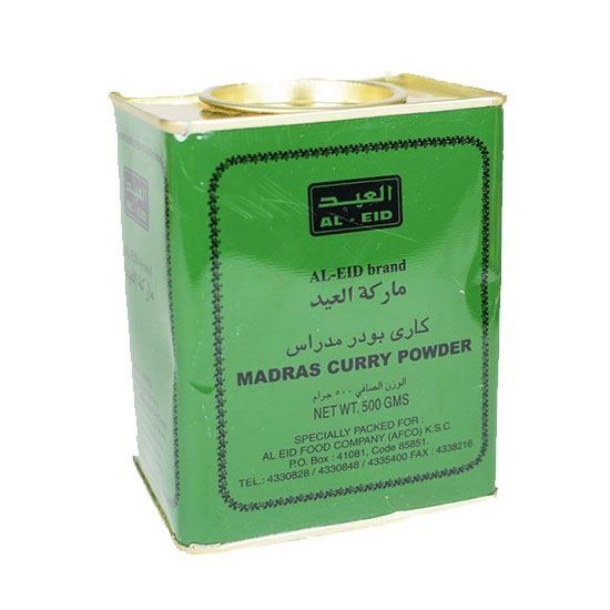 Picture of AL Eid Madras Curry Powder( 500 GM * 36 Cans  )