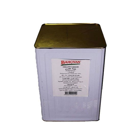 Picture of Bahcivan Akkawi Cheese Vegetable Fat  (  13 KG * 1 Tin )