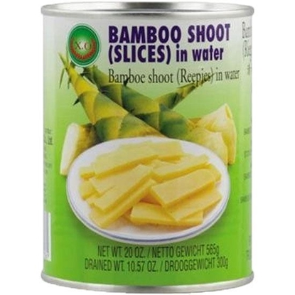 Picture of Green Field Bamboo Shoot Slices in Water  ( 340 GM * 12 Cans )