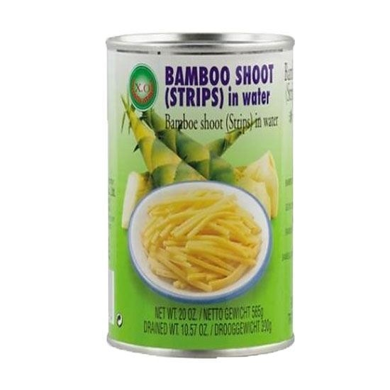 Picture of Green Field Bamboo Shoot Strips in Water  ( 340 GM * 12 Cans )