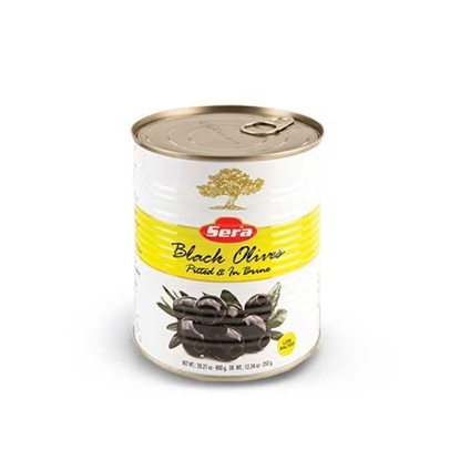 Picture of Sera Black Olives Super Low Salt ( 2.500 kg * 2 Cans )