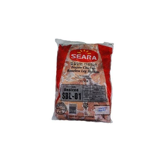 Picture of Seara Frozen Chicken Whole Legs Boneless Skinless ( 2500 GM *  4 Pieces )