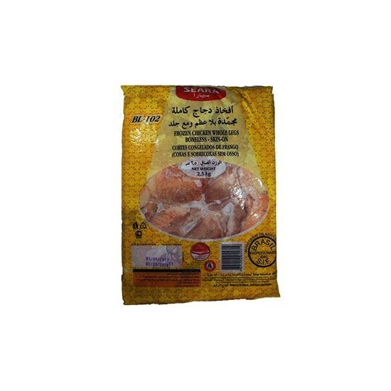 Picture of Seara Frozen Chicken Whole Legs Boneless Skin On ( 2500 GM *  4 Pieces )