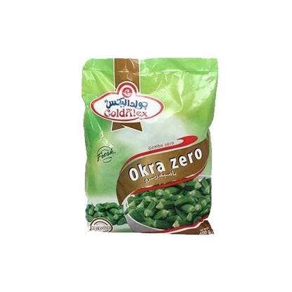 Picture of Goldalex Frozen Okra  Zero   ( 400 GM *  20 Pouch )