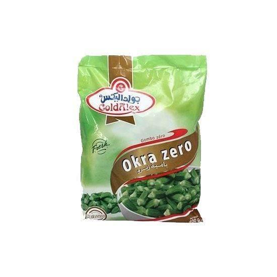 Picture of Goldalex Frozen Okra  Zero   ( 400 GM *  20 Pouch )