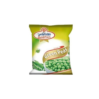 Picture of Goldalex Frozen Green Peas  ( 400 GM *  20 Pouch )