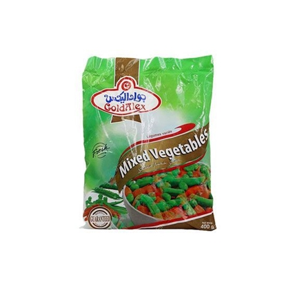 Picture of Goldalex Frozen Mix Vegetables   ( 400 GM *  20 Pouch )