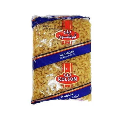 Picture of Kolson Macroni Large Elbow  No. 2   ( 400 GM *  20 Pouch )