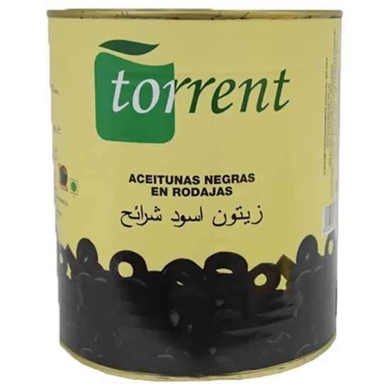 Picture of Torrent Black Sliced Olives  ( 1.560 KG * 6 Cans )