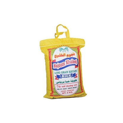 Picture of Najoom Khaleej Rice   ( 5 KG *  8 Bag )
