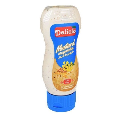 الصورة: Delicio Mustard ( 300 ML * 12 Bottle )