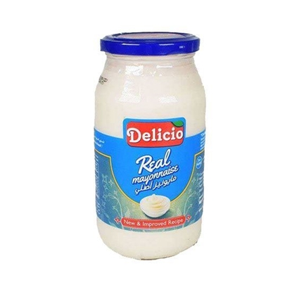 الصورة: Delicio Real Mayonnaise ( 300 ML * 12 Bottle )