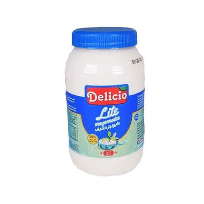 الصورة: Delicio Lite Mayonnaise    ( 946 ML * 12 Bottle )