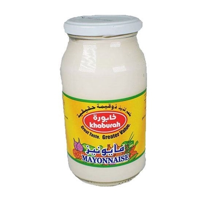 الصورة: Khaburah Mayonnaise ( 237 ML * 12 Jar )