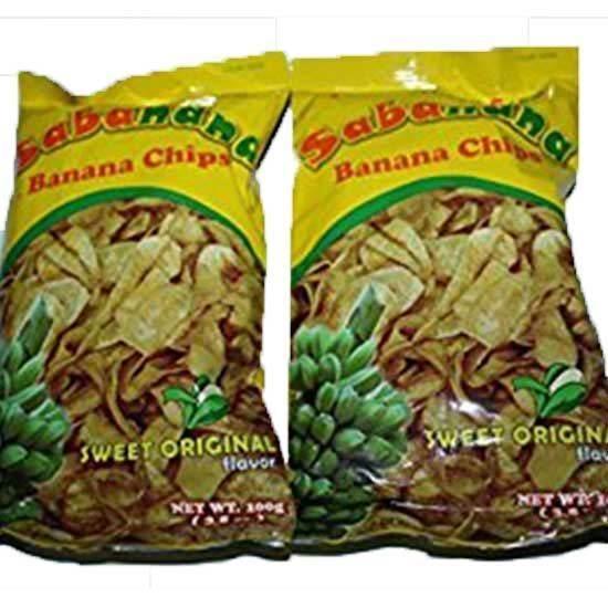 صورة سابانانا شيبسي الموزالحلو الأصلي لايت فيلا سوكورو  (  100 جم * 48 كيس )