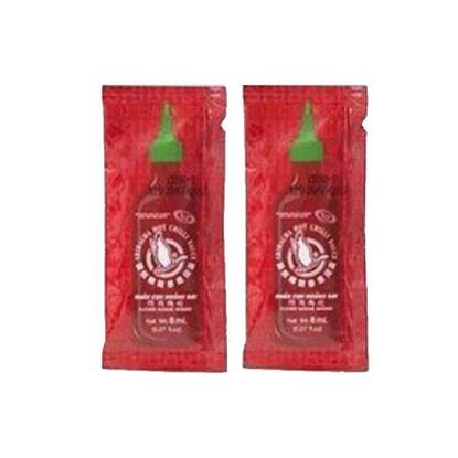 Picture of Flying Goose Sriracha Chili Sauce (6 Box * 200 Pieces * 8 ML )
