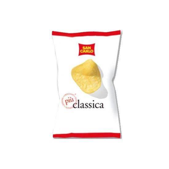 صورة سان كارلو رقائق بطاطس مقلية كلاسيكا   ( 50 جم * 20 كيس )