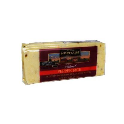 Picture of Heritage Monterey Jack cheese with Pepper   ( 227 GM * 12 Pouch )