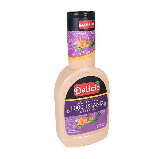 Picture of Delicio Island  Dressing     ( 267 ML * 12 Bottle )