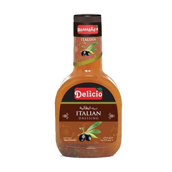 صورة Delicio Italian Dressing    ( 532 ML * l 2 Bottle )