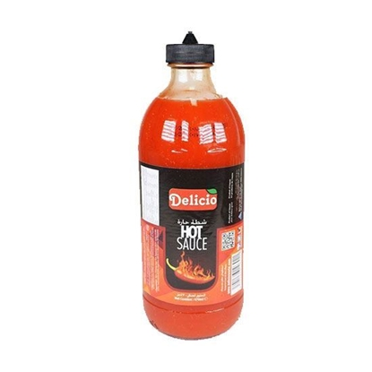 الصورة: Delicio Hot Sauce( 470 ML * 12 Bottle )