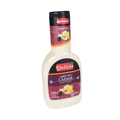 الصورة: Delicio Ceasar Dressing    ( 267 ML * l 2 Bottle )
