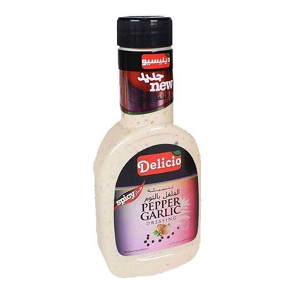 الصورة: Delicio Pepper Garlic Dressing    ( 267 ML * l 2 Bottle )