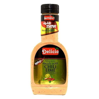 الصورة: Delicio Chili Lime Dressing    ( 267 ML * l 2 Bottle )
