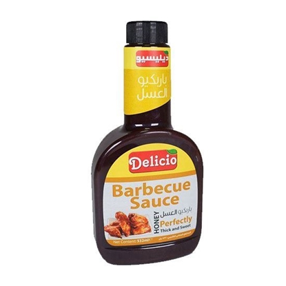 Picture of Delicio BBQ Sause Honey   ( 532 ML * l 2 Bottle )
