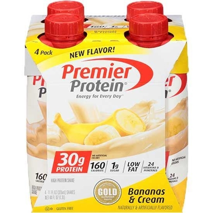 Picture of Premier Nutrition Protein Shake Banana & Caramel       ( 325 ML * 18 Bottle )
