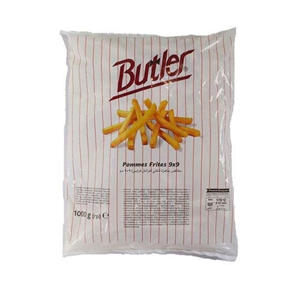 Picture of Buttler Frozen Potato French Fries     1 KG * 10 Pouch )