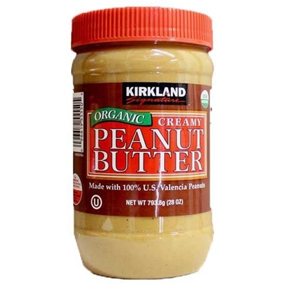 Picture of Kirkland Oraganic Peanut Butter    ( 793.8 GM * 2 Bottle )