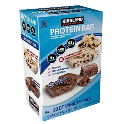Picture of Kirkland Protein Bar Brownie( 60 GM * 20 Pieces )