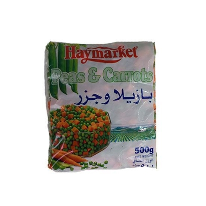 Picture of Hay Market Peas and Carrots  ( 500 GM *  24 Pouch )
