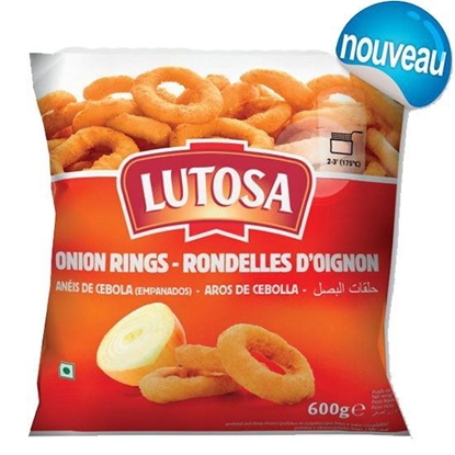 Picture of Lutosa Onion Rings ( 1 KG  * 6 Pouch )