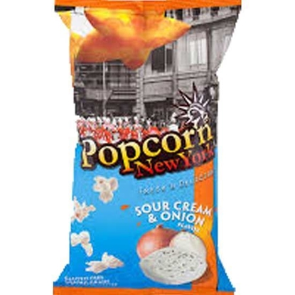 Picture of Pop Corn New York Sour Cream & Onion  ( 60 GM * 24 Pouch  )
