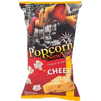 Picture of Pop Corn New York Cheese  ( 60 GM * 24 Pouch  )