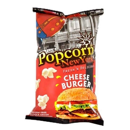 Picture of Pop Corn New York Cheese Burger ( 30 GM * 24 Pouch  )