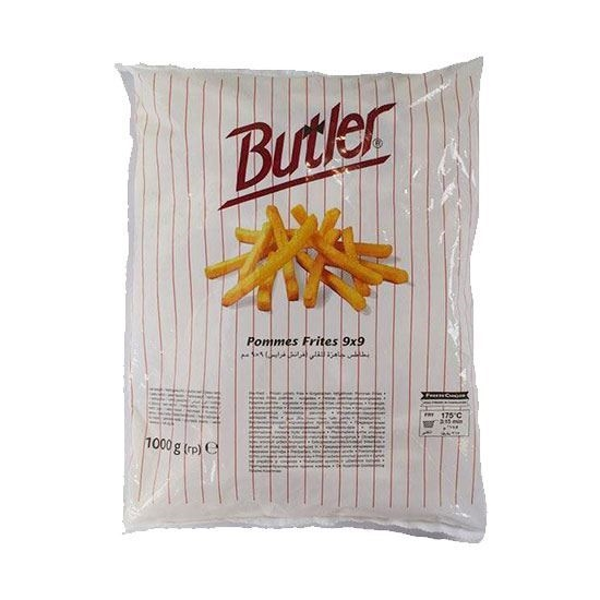 Picture of Buttler Frozen French Fries   ( 2.500 KG * 4 Pouch )