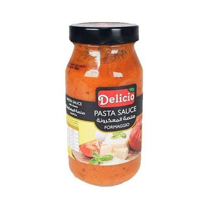 Picture of Delicio Formaggi Pasta Sauce with cheese ( 500 GM * 12 Jar )