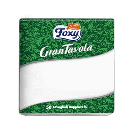 Picture of Foxy Table Napkin White ( 50 Packet * 36 Piece )
