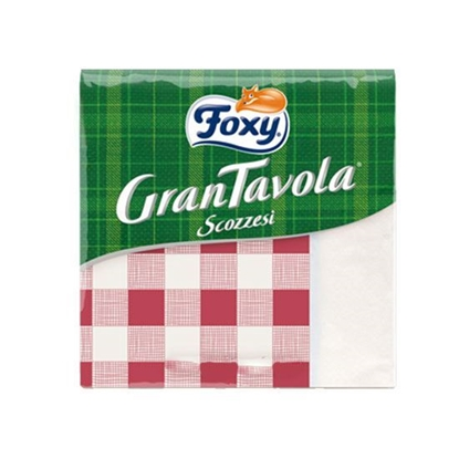 Picture of Foxy Table Napkin Square  33*33   ( 100 Packet * 18 Piece )