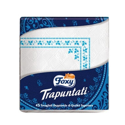 Picture of Foxy Table Napkin Trapuntati 40*40   ( 45 Packet * 24 Piece )