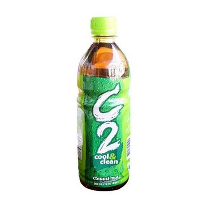Picture of C2 Green Tea Apple      ( 355 ML * 24 Bottle )