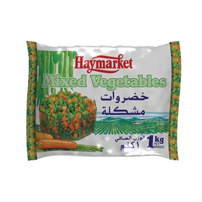 Picture of Hay Market Mix Vegetables ( 1 KG * 12 Pouch )