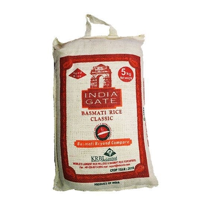Picture of India Gate Classic Basmati Rice ( 5 KG * 8 Bag )