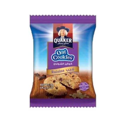 Picture of Quaker Oats Cookies Raisins ( 9 GM * 8 Pouch   )